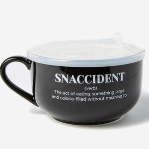 Typo Big Mug Bowl